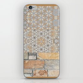 The Alamo Wall Collage 6396 iPhone Skin