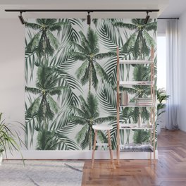 South Pacific palms Wall Mural