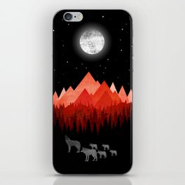 Wolf Family iPhone Skin