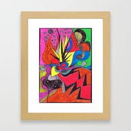more cosmic happenstance Framed Art Print