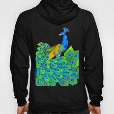 Paisley Peacock Hoody