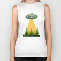 i want to believe Biker Tanks featuring I Want To Believe by molmcintosh