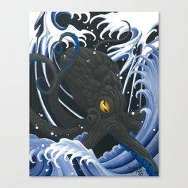 Demon Water Tako Canvas Print