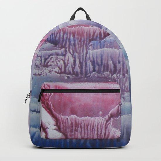 blue underwater world 1 Backpack