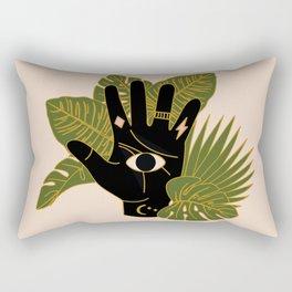 Mystic Hand Rectangular Pillow