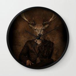 The Gentle Deer Wall Clock