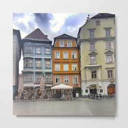 Somewhere In Slovenia Metal Print