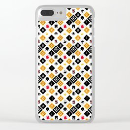 Scotland Town Clear iPhone Case