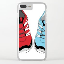 Sporty Shoe Love Clear iPhone Case