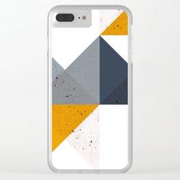 Modern Geometric 19/2 Clear iPhone Case