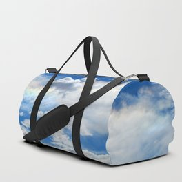Clouds and rainbow Duffle Bag