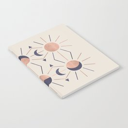 Moon and Light Rosè Version Notebook