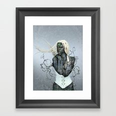 As you sow, so shall you reap. Framed Art Print