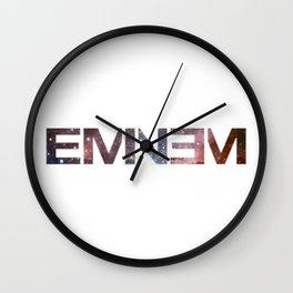 Emine Nebula Wall Clock