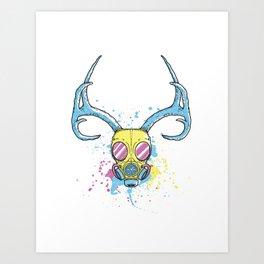BuckShot Art Print