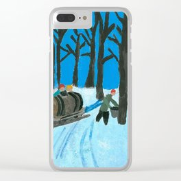 That's canada Clear iPhone Case