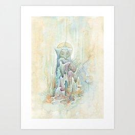 Gentle Soul (Watercolour Painting) Art Print