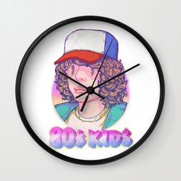 80's KIDS Wall Clock