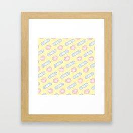 BANDAID Framed Art Print