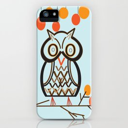 The Owl In Myriad Pro iPhone Case