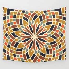 Flowering Quilt #3 Wall Tapestry