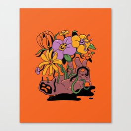 Back to life Canvas Print