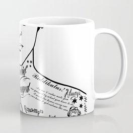 HP Mischief Managed Tat Sketch Coffee Mug