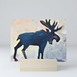 Appreciation - Moose Mini Art Print