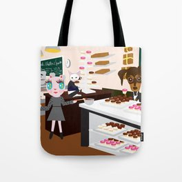 FASHIOINISTA CATS CUP CAKE Tote Bag