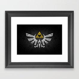 Zelda Hyrule Framed Art Print