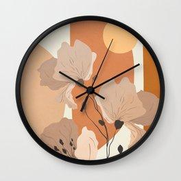Elegant Shapes 01 Wall Clock