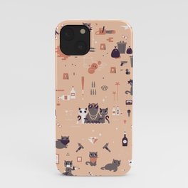 Bad cats iPhone Case