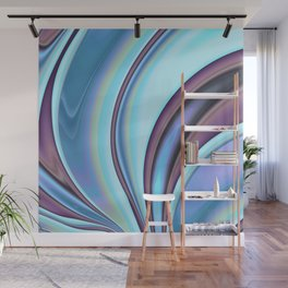 Abstract Fractal Colorways 02PrBl Wall Mural