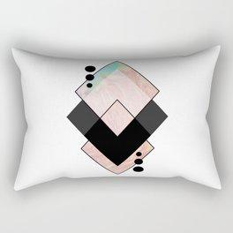 Geometric Composition 11 Rectangular Pillow