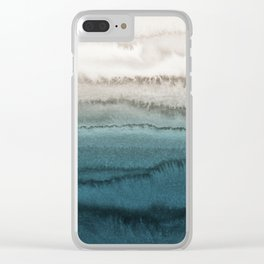 WITHIN THE TIDES - CRASHING WAVES Clear iPhone Case