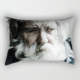 as time pass. Rectangular Pillow