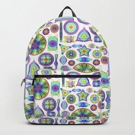 Ernst Haeckel Rainbow Diatoms Backpack