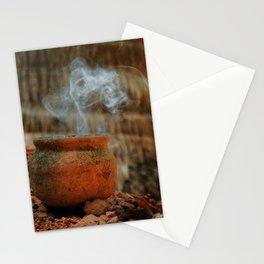 Smoke from a pot Stationery Cards