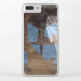 The Sheet Ghost in My Doll House Clear iPhone Case