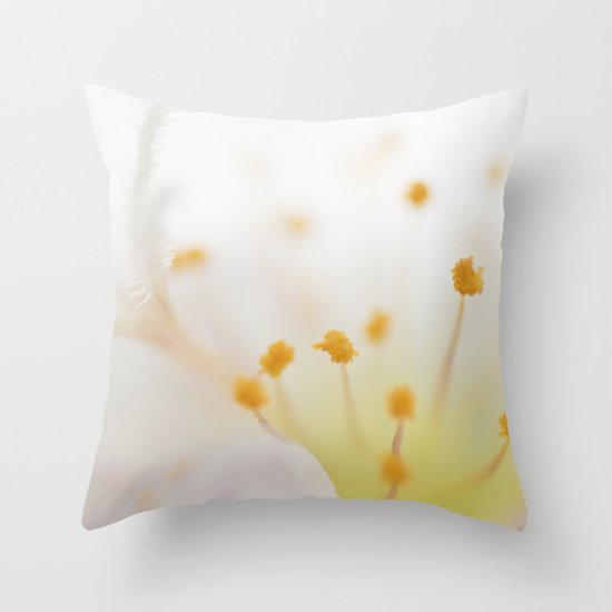 Mornings Throw Pillow