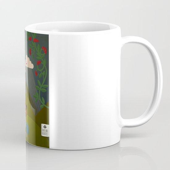 Jolly Coffeesburg (Soy, venti, vanilla latte, sugar-free) Mug