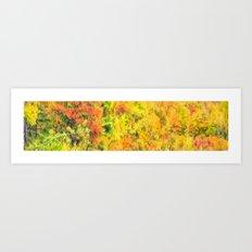 Impressions of Autumn Art Print