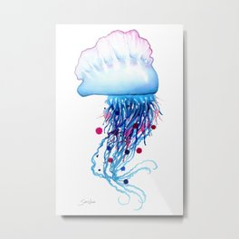 Manowar Jellyfish Metal Print