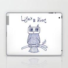Life's a Hoot Laptop & iPad Skin