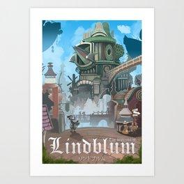 Final Fantasy IX - Lindblum Art Print