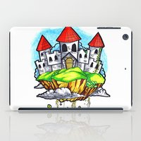 castle in the sky iPad Cases featuring Castle In The Sky by Factory Three