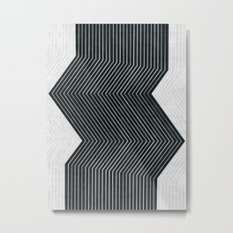 Abstract and minimalist art Metal Print