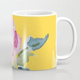 Watercolor Rose Kaffeebecher