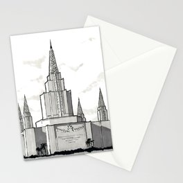 Oakland California Temple Stationery Cards
