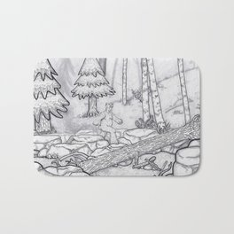 Alfsquatch Bath Mat